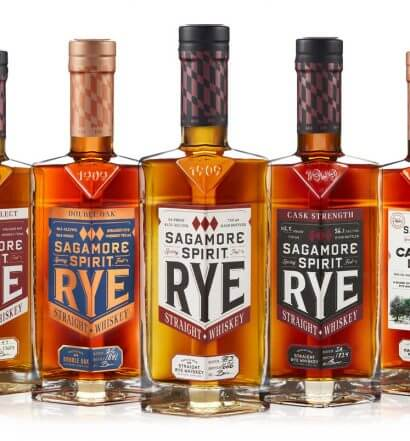 2020 Sagamore Spirit Family Bottle Lineup, bottles on white, featured image
