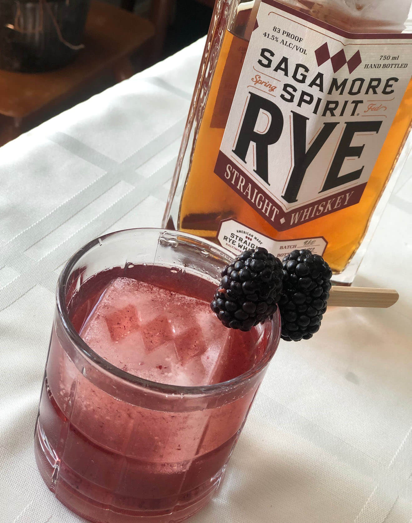Blackberry Fig Old Fashioned