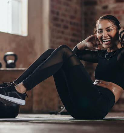 No Gear Exercises, fitness girl, featured image