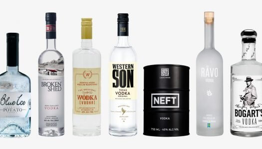 Top 7 Vodka Brands to Have Delivered