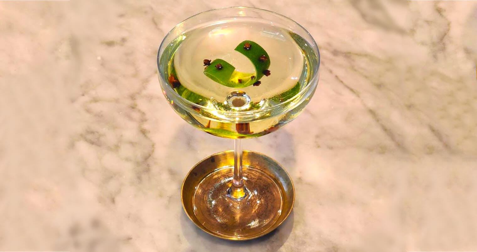 Roustabout cocktail, featured image