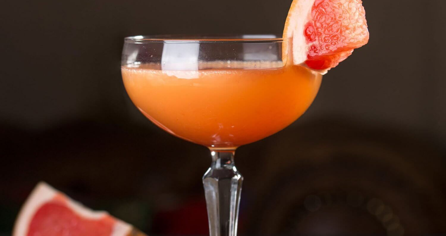 The Bittersweet cocktail with grapefruit garnish, featured image