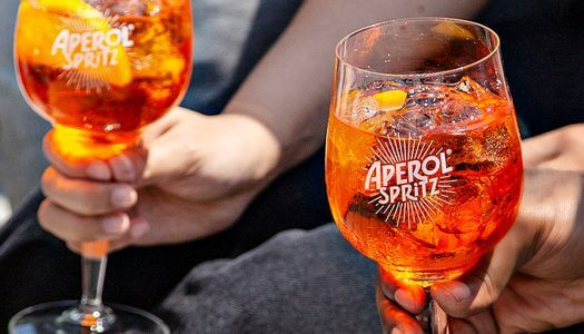 #TogetherWeToast with Aperol Spritz
