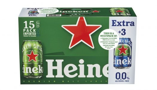 Introducing Heineken 15-Count Multipack with Heineken 0.0