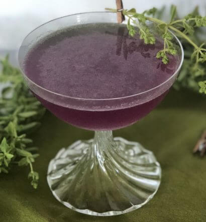 OregaKnows Best, cocktail, herbs, featured image