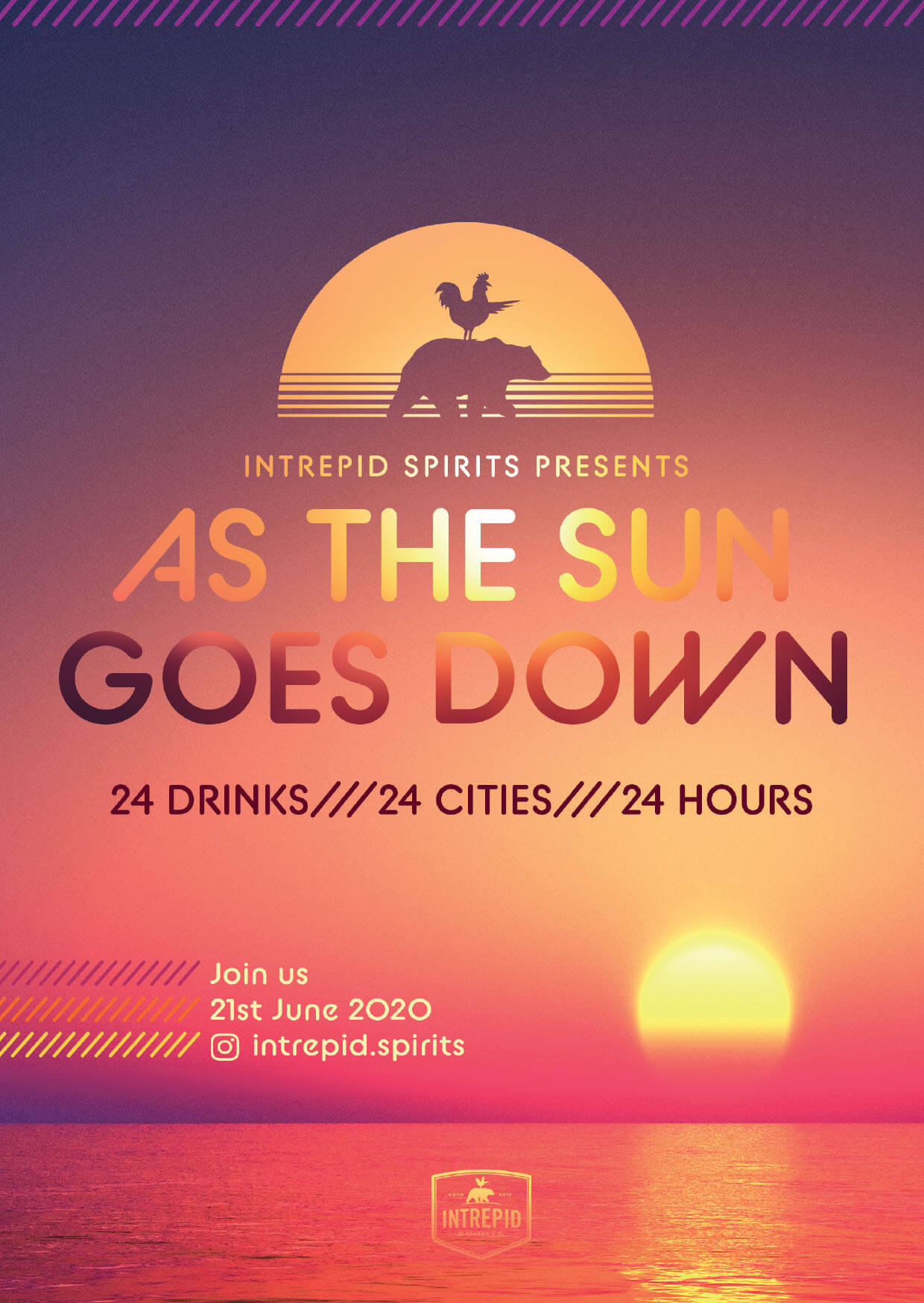 As the Sun Goes Down, flyer