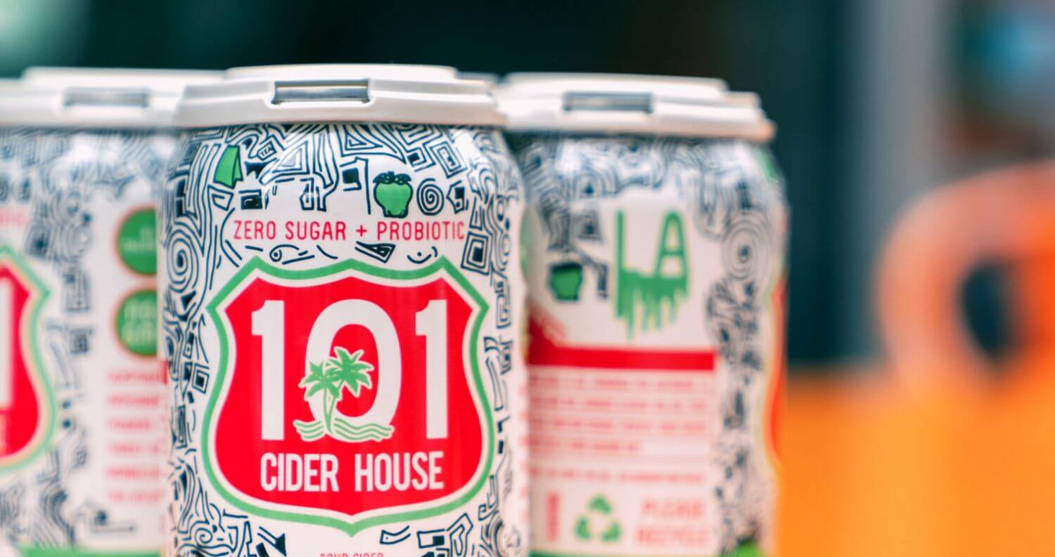 101 Cider, cans, featured image