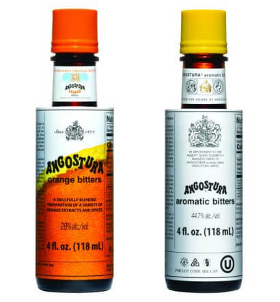 ANGOSTURA bitters, bottles on white featured image
