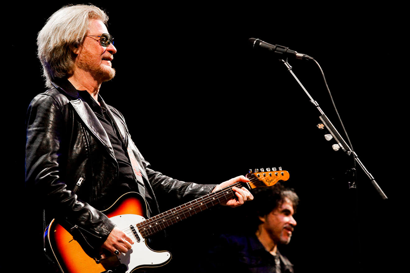 Daryl Hall & John Oates at the 3Arena in Dublin on Sunday 29th October 2017