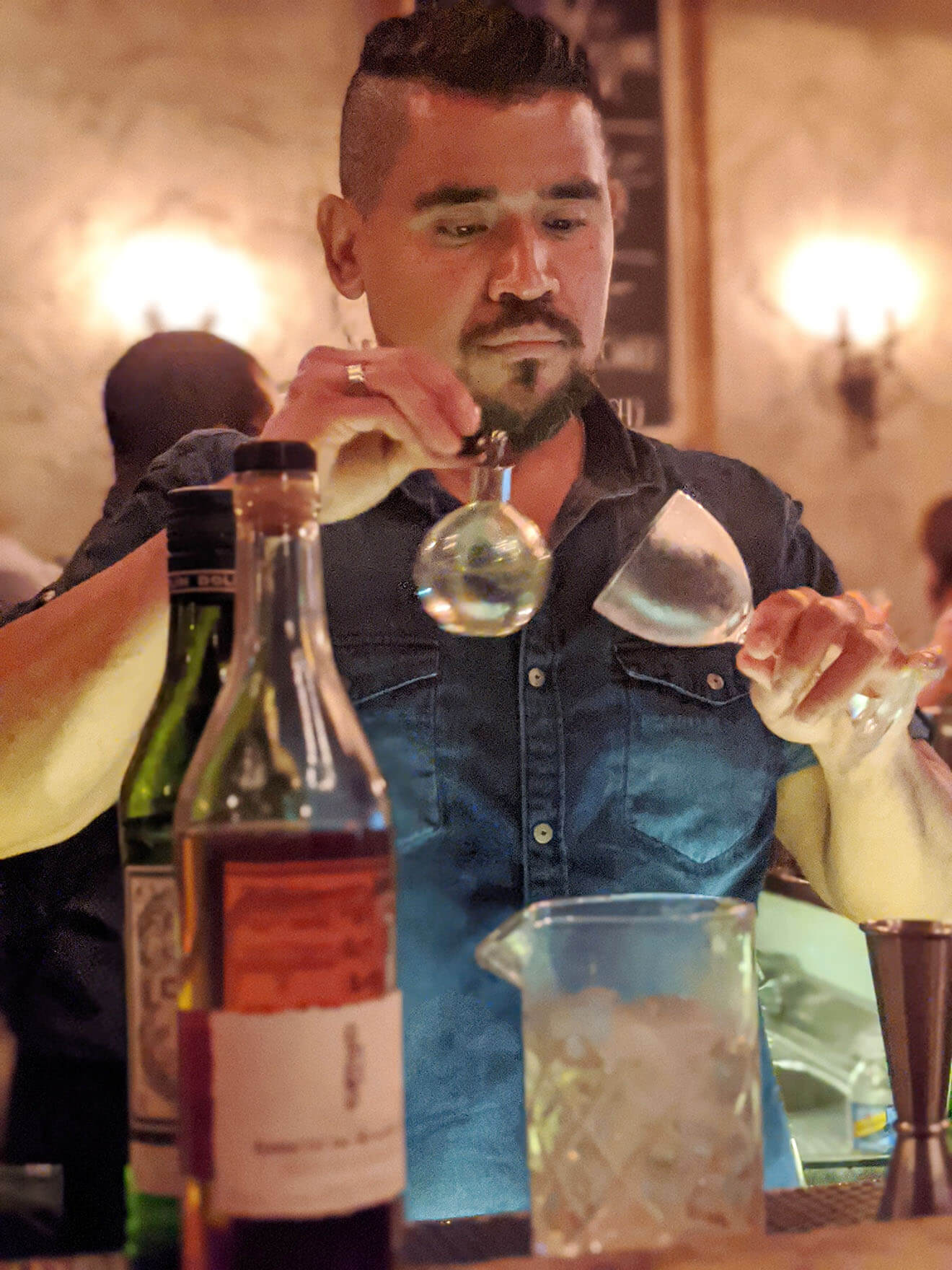 Rony Gonzalez, Bartender, Melrose Umbrella Co.