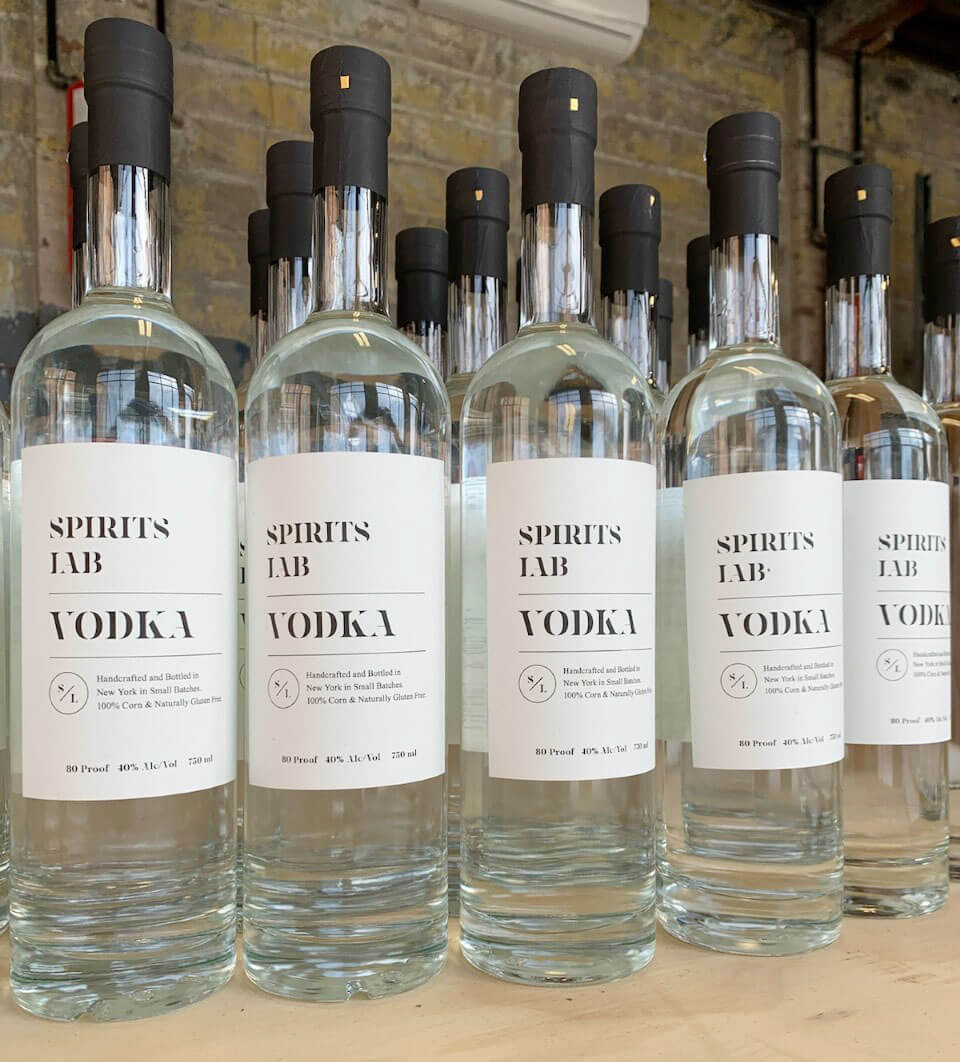 Spirits Lab Vodka and Bourbon