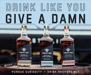 Treaty Oak Distilling sidebar ad