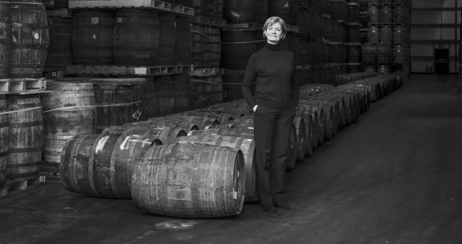 Stephanie MacLeod, dewars barrel room, featured image