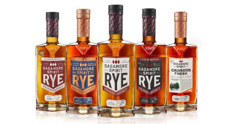 2020 Sagamore Family Bottle Lineup, bottles on white, featured image