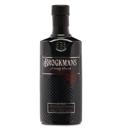 Brockmans Gin Wins Platinum, bottle on white, featured image