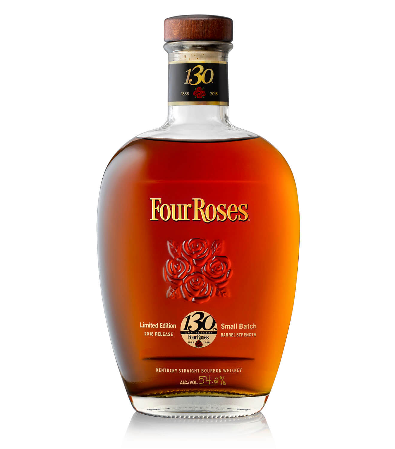 Four Roses Small Batch Limited Edition 2018, bottle on white