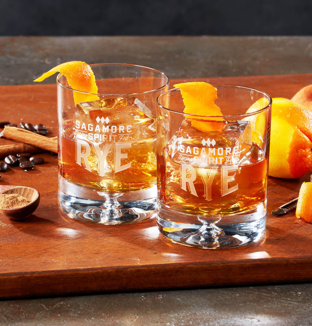 Pumpkin Coffee Old Fashioned