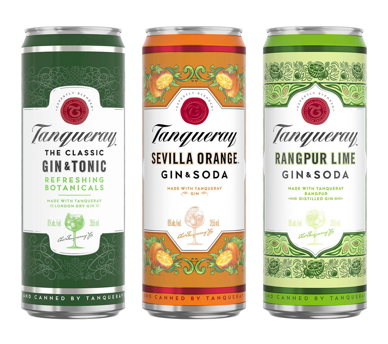 Tanqueray Crafted Gin Cocktails