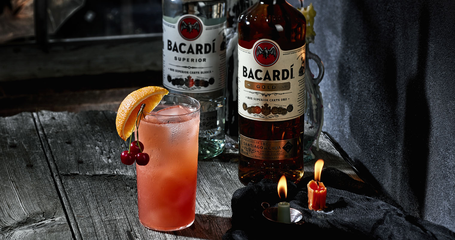 BACARDÍ Zombie, halloween decorations, featured image