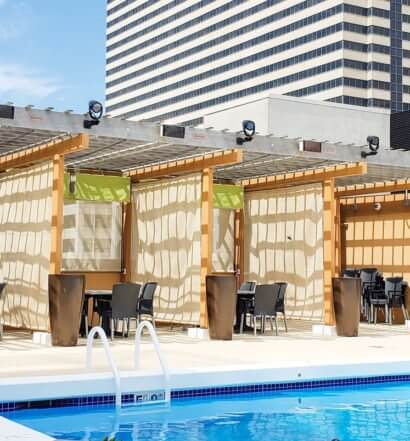 Ceasars Poolside Dining, featured image