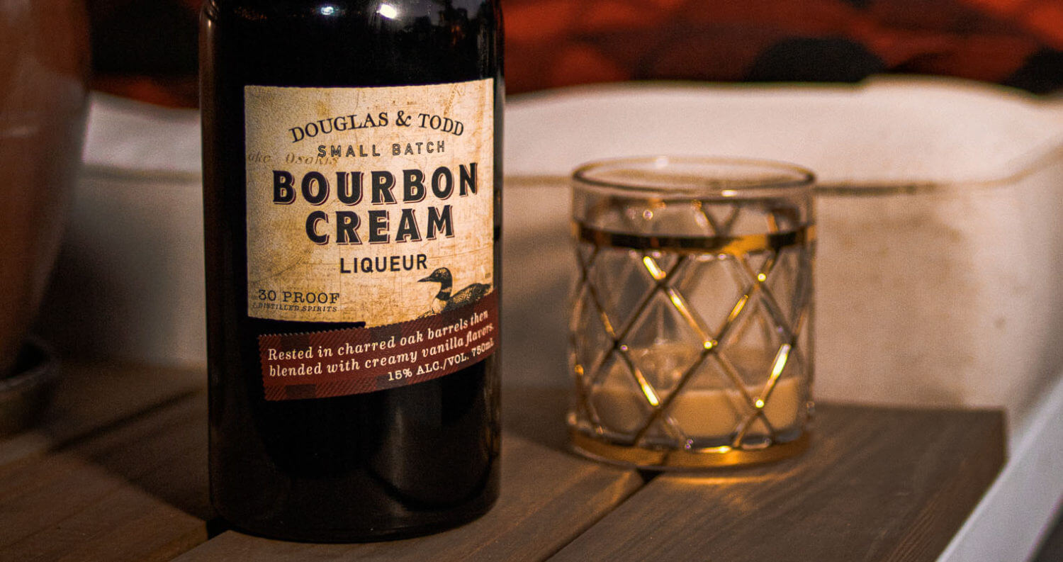 Douglas & Todd Small Batch Bourbon Cream Liqueur , featured image