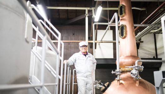 Being Kimio Yonezawa, President and Toji of Akashi Tai Sake Brewery