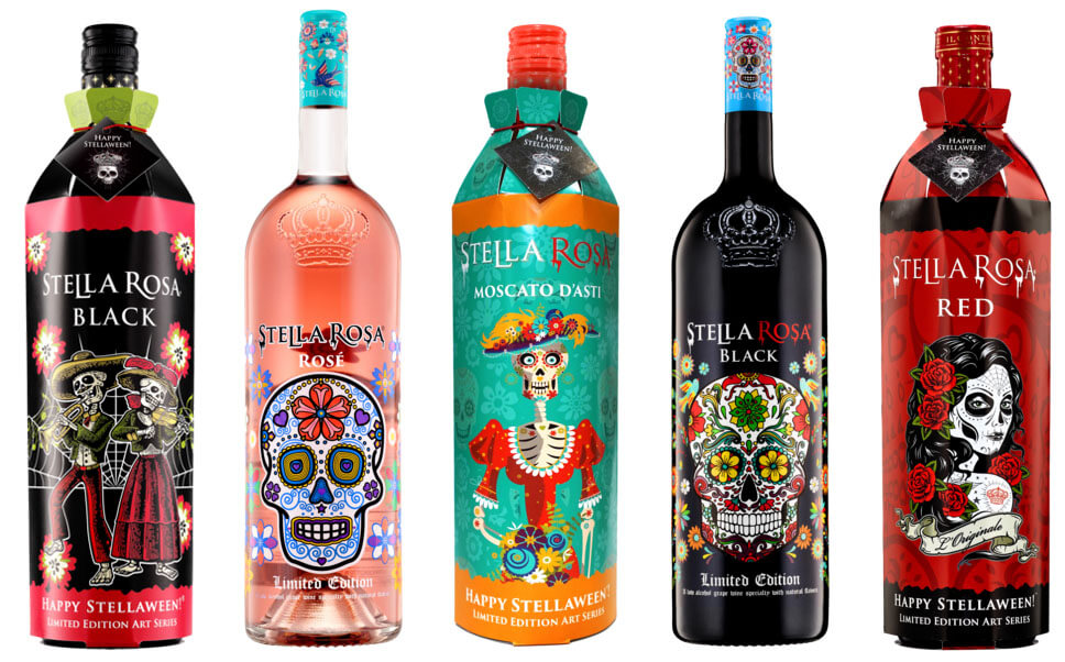 Stella Rosa Day of the Dead Packaging
