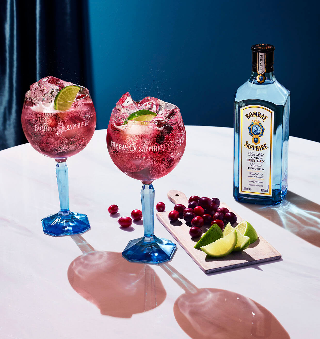 Bombay Cranberry G&T