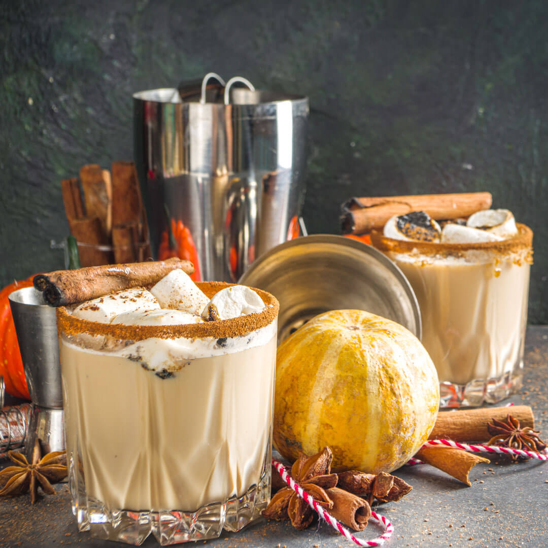 Heavenly Spiced White Russian