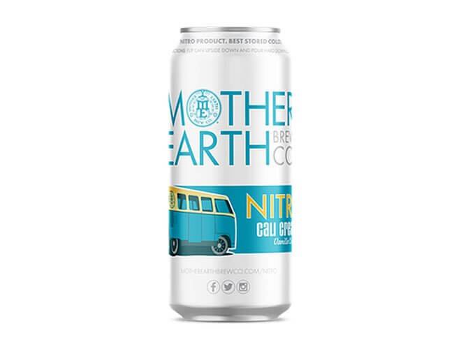 Mother Earth Cali Creamin Ale, can on white