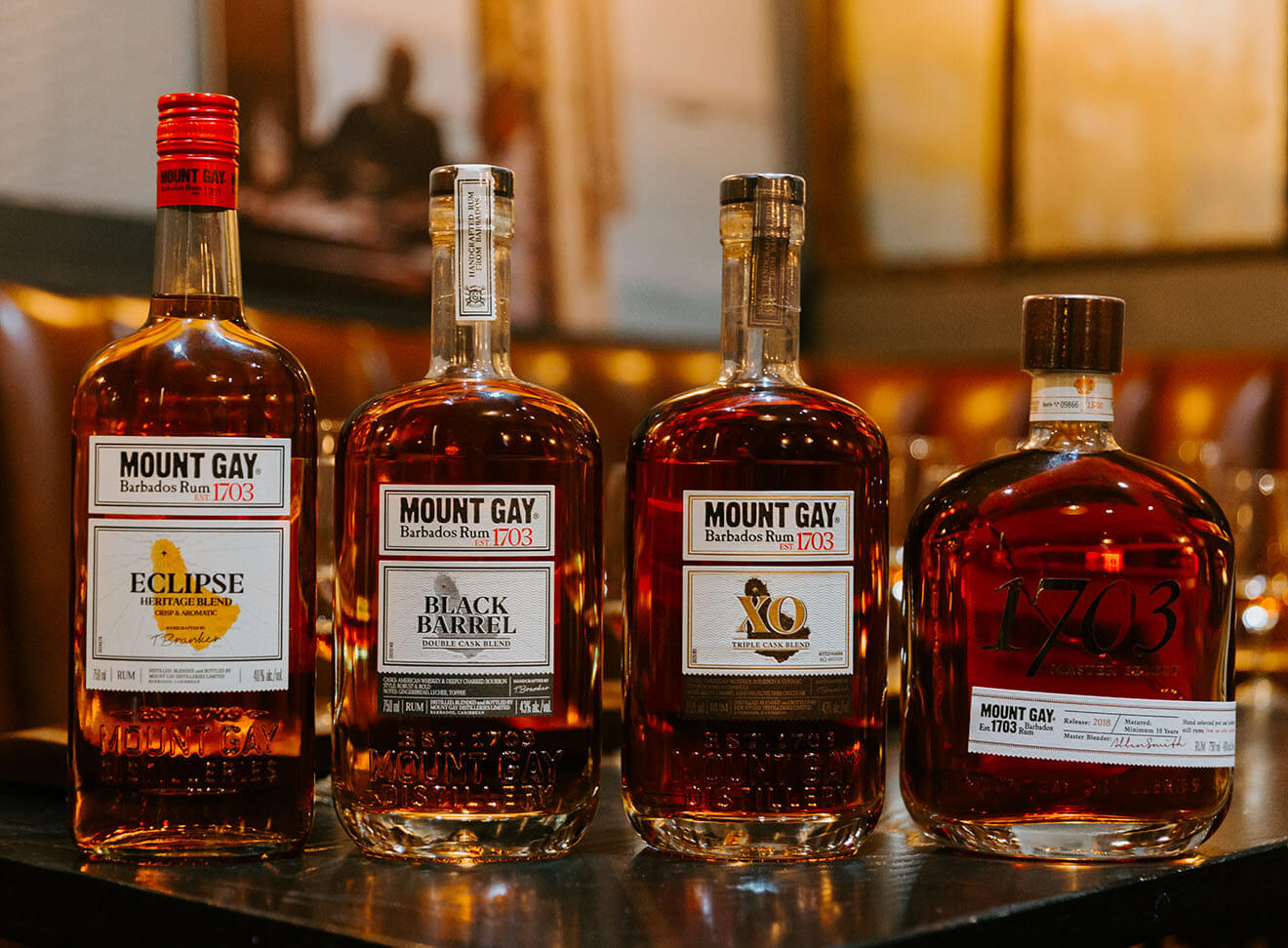 Mount Gay Rum Range