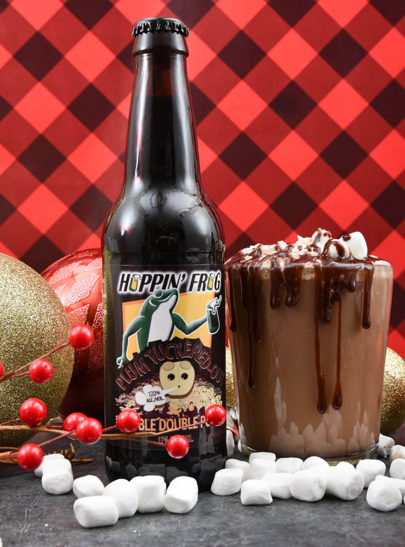 Piping Hot Porter Chocolate