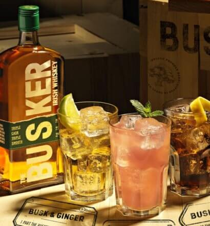 Three Cocktails with Busker Irish Whiskey, featured image