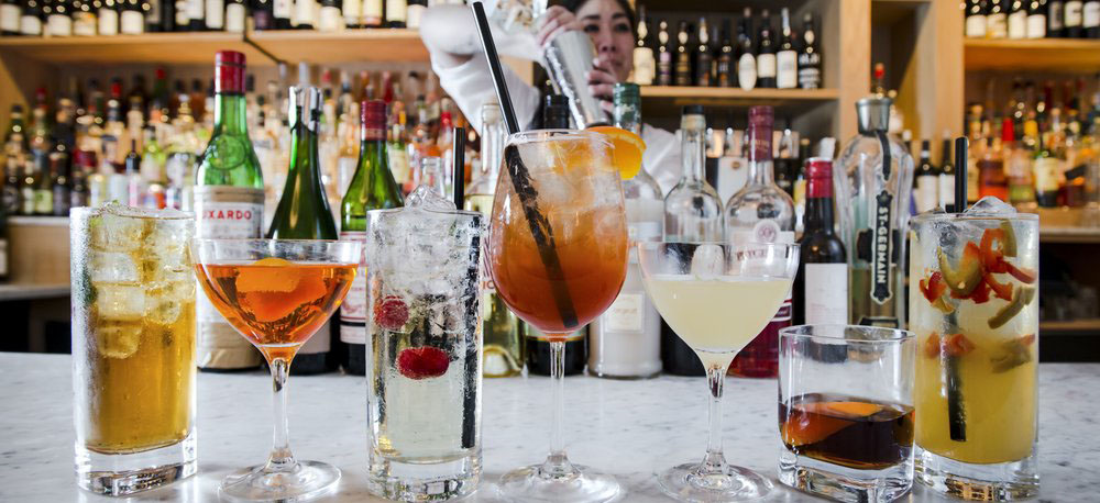 Cocktail Collection at Blue Ribbon Federal Grill