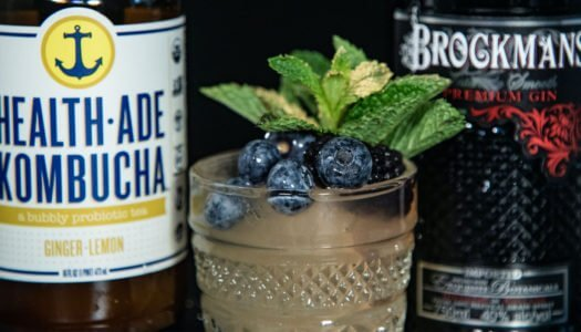 3 Cocktails to Try with Brockmans Gin & Health-Ade Kombucha