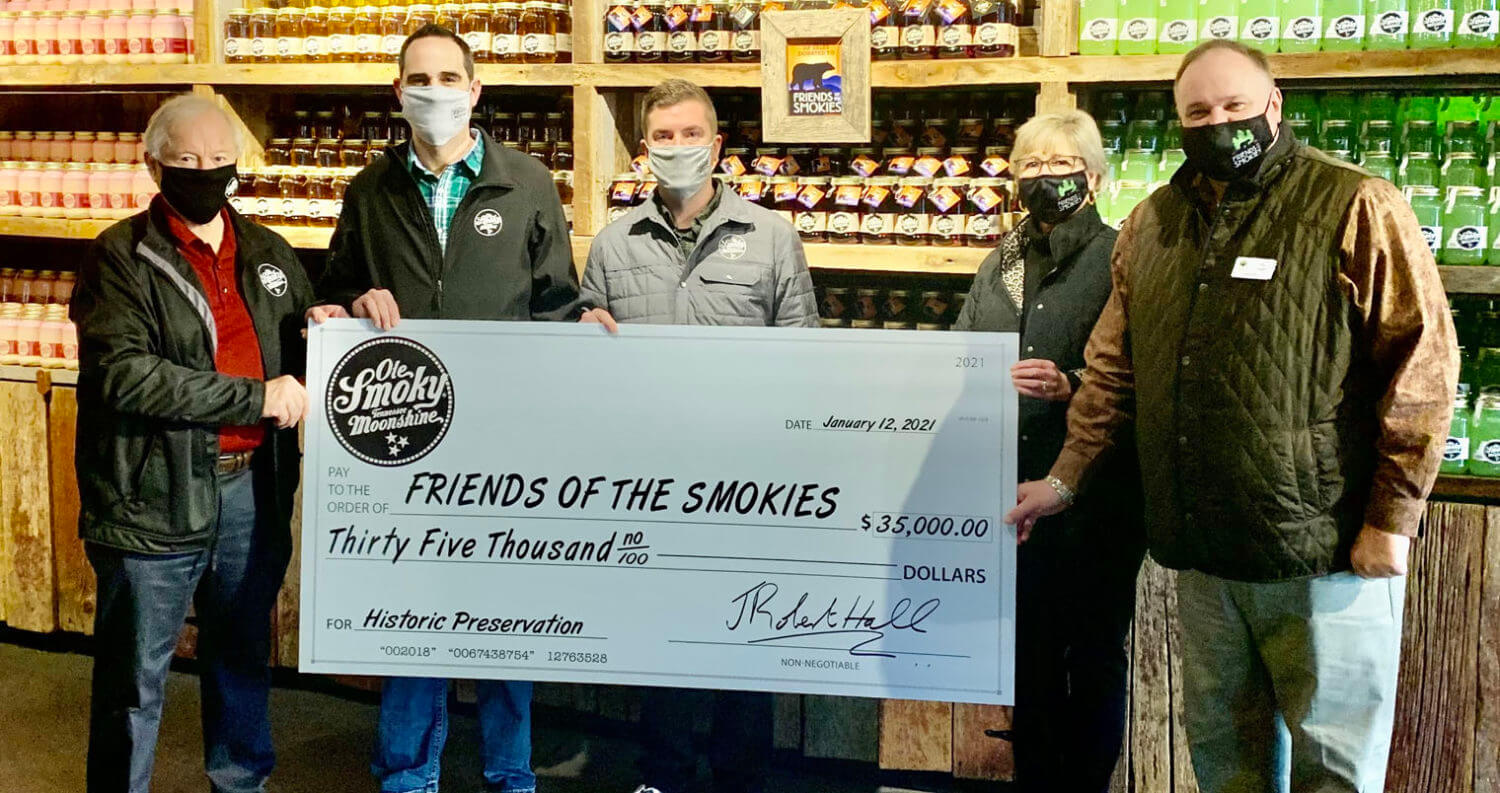 Ole Smoky Distillery Donation, featured image