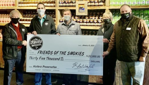 Ole Smoky Distillery Donates to Friends of the Smokies