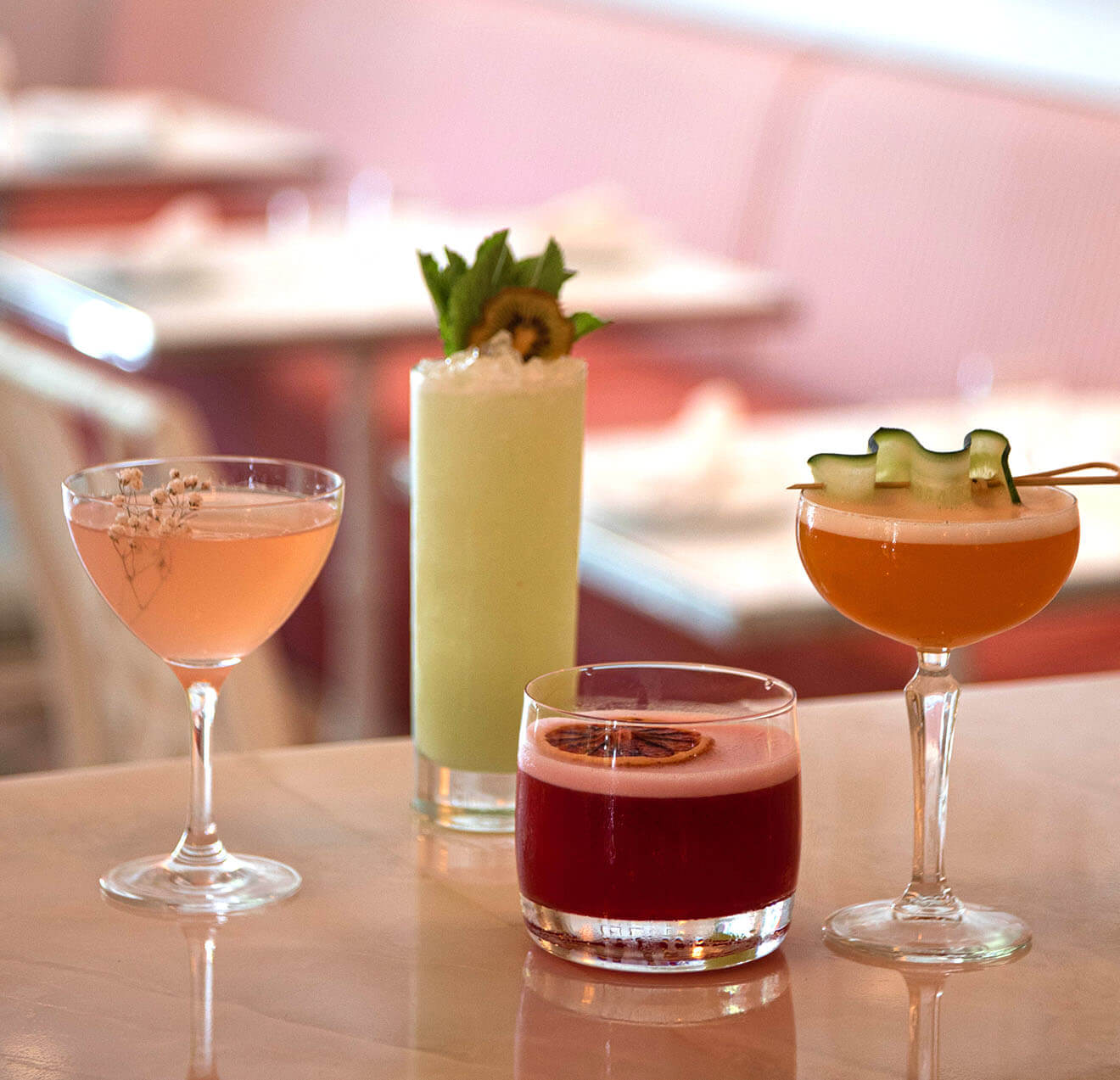The Swan Cocktails