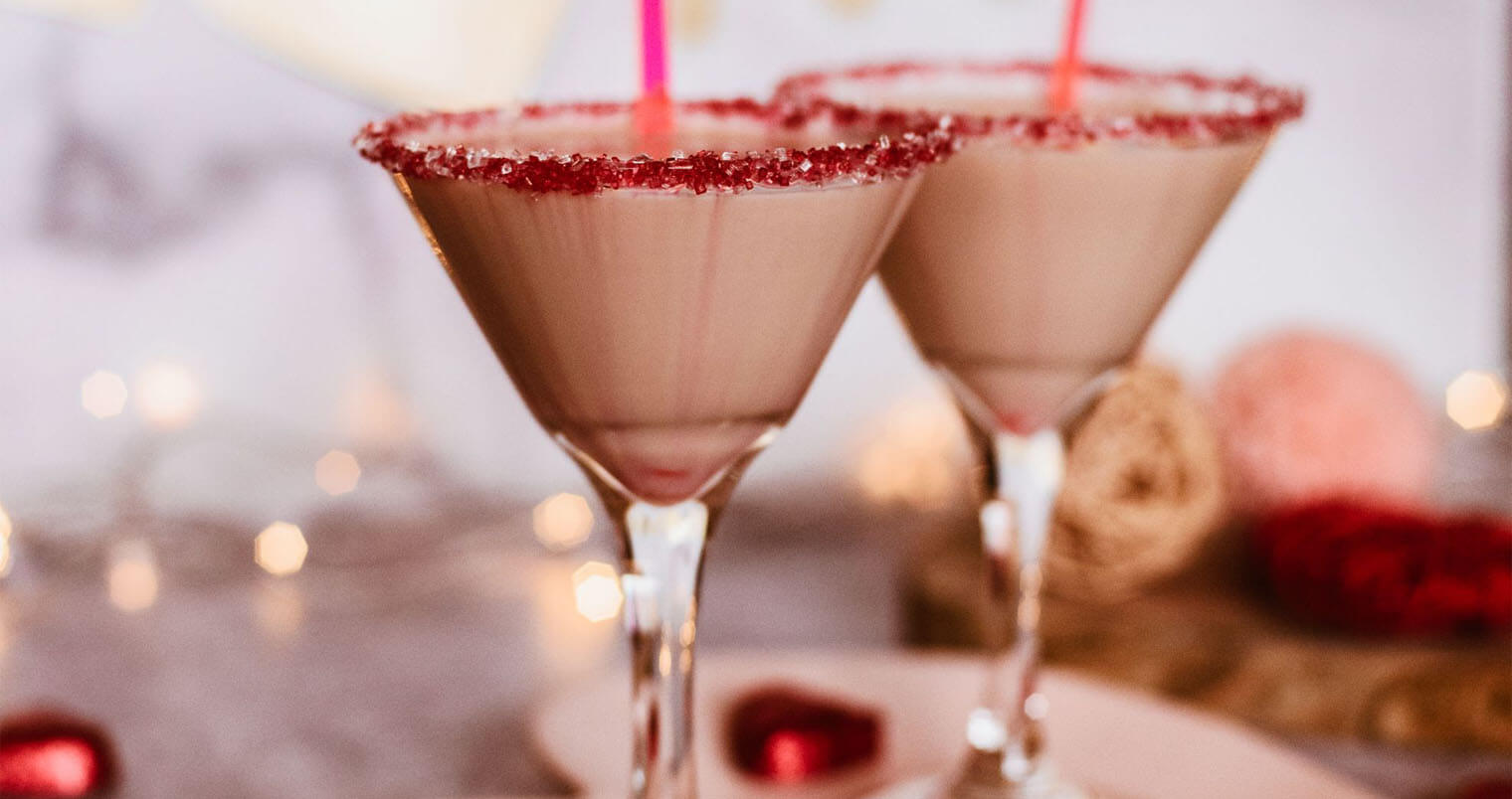 Chocolate Covered Strawberry Martini, featured image