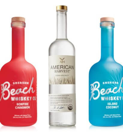 American Harvest Vodka and Beach Whiskey