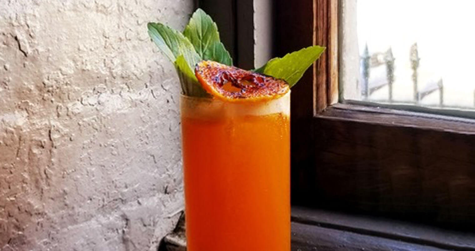 Butternut Squash Pimms, featured image