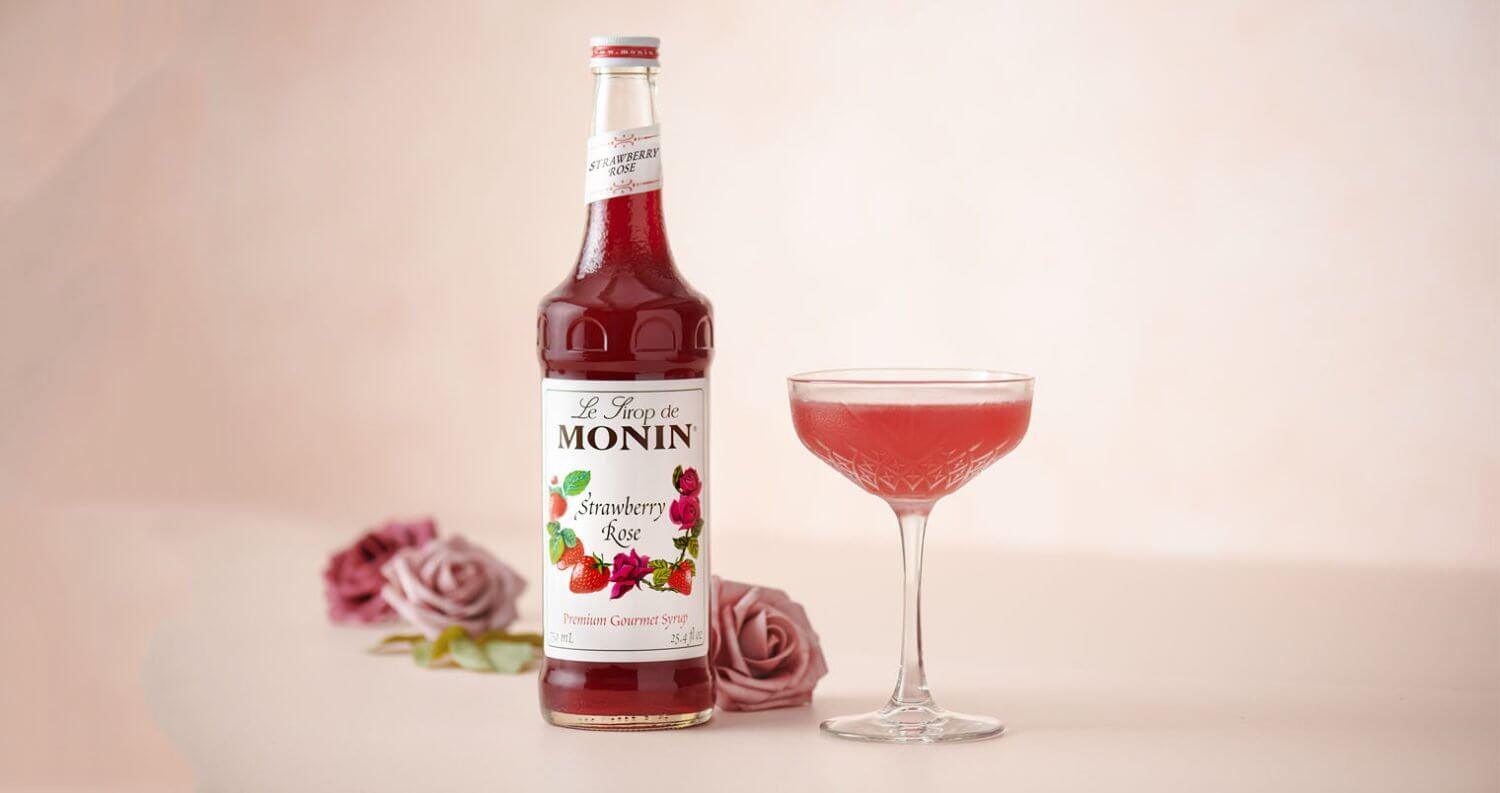 Monin Strawberry Rose Syrup featured image