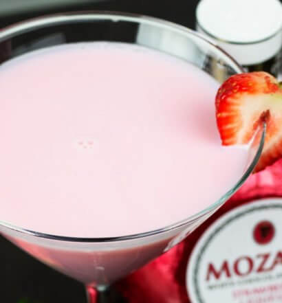 Mozart Strawberry Martini featured image