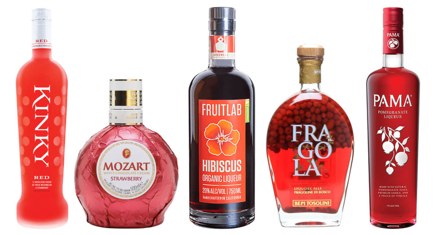 Red Fruit Liqueurs, FEATURED IMAGE