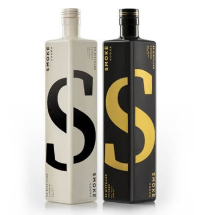 SMOKE LAB VODKA Classic and Aniseed