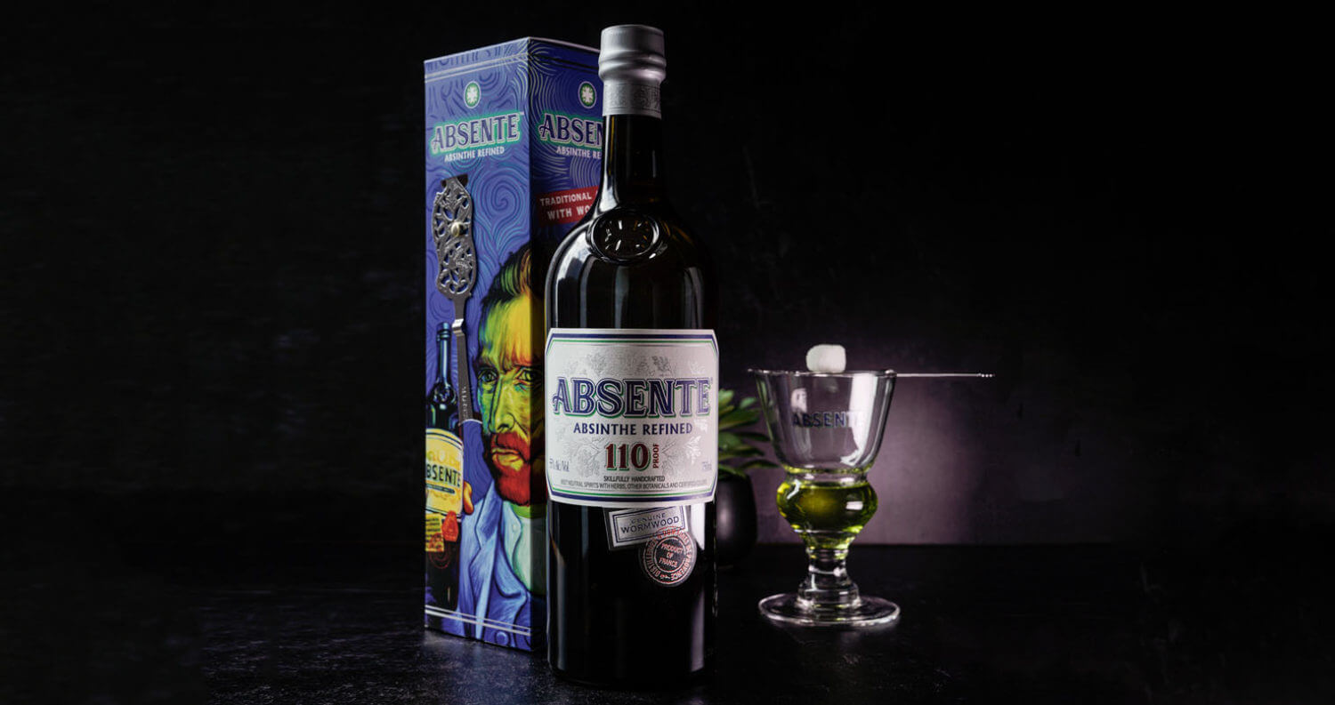 Absente Absinthe Refined with Glass, featured image