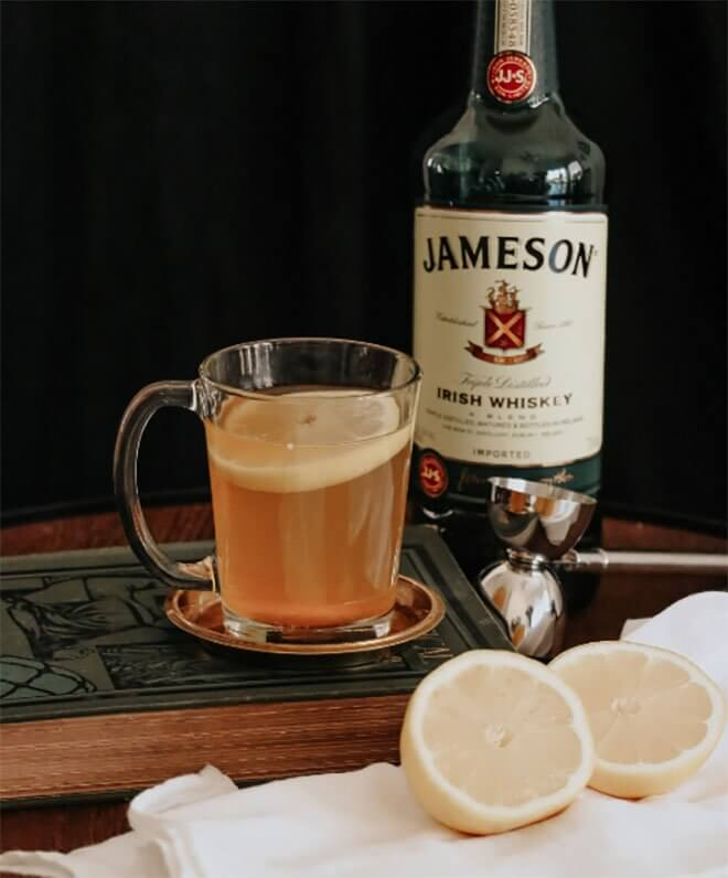 Jameson Irish Breakfast Tea Hot Toddy