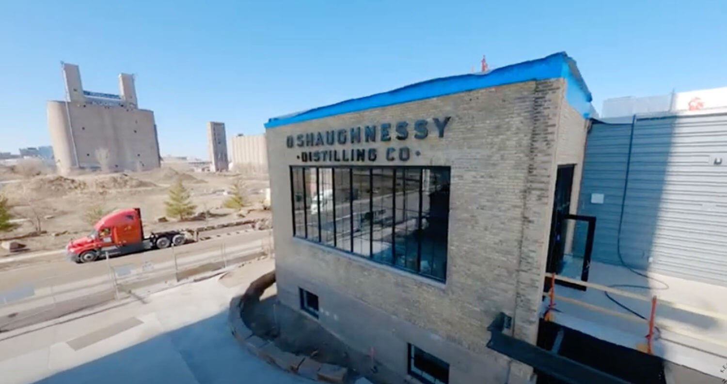 Drone Distillery Tour, featured image