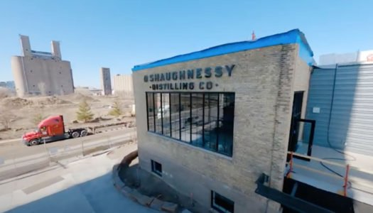 TAKE A DRONE TOUR THROUGH O'SHAUGHNESSY DISTILLING COMPANY