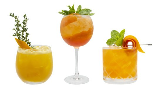 HOW TO SOPHISTICATE YOUR MOCKTAIL WITH HELP FROM MONIN'S ORANGE SPRITZ